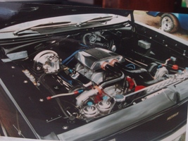 Twin turbo 318 V8